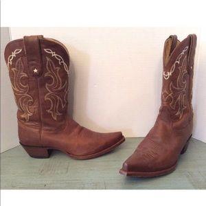 Tony Lama Vaquero Western Cowboy Boots